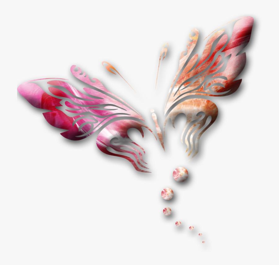 Butterfly Park Graphic Design, Transparent Clipart