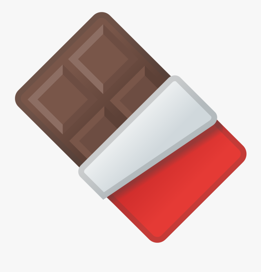 Chocolate Bar Png - Emoji De Chocolate, Transparent Clipart