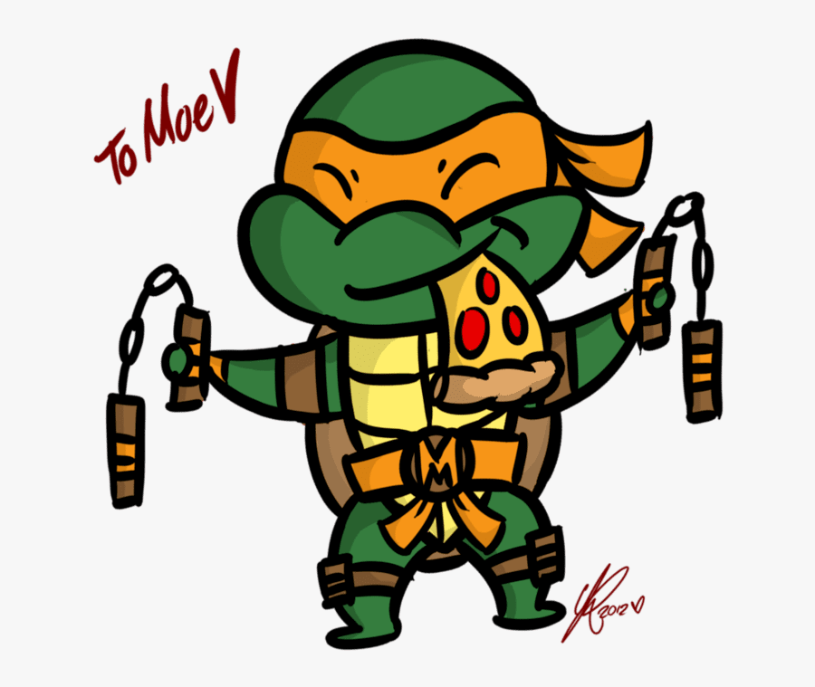 Transparent Ninja Turtle Shell Clipart - Teenage Mutant Ninja Turtles Michelangelo Drawing, Transparent Clipart