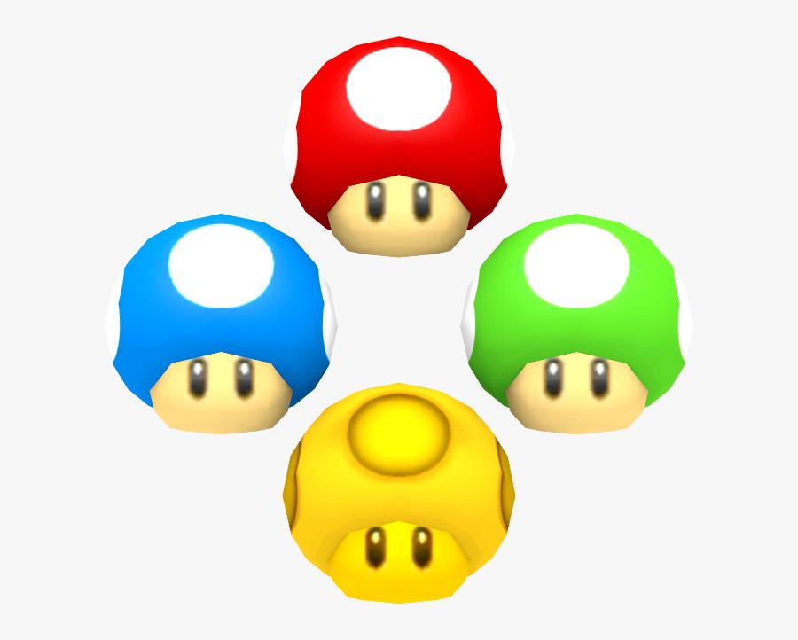 Download Zip Archive - New Super Mario Bros 2 Mushroom, Transparent Clipart