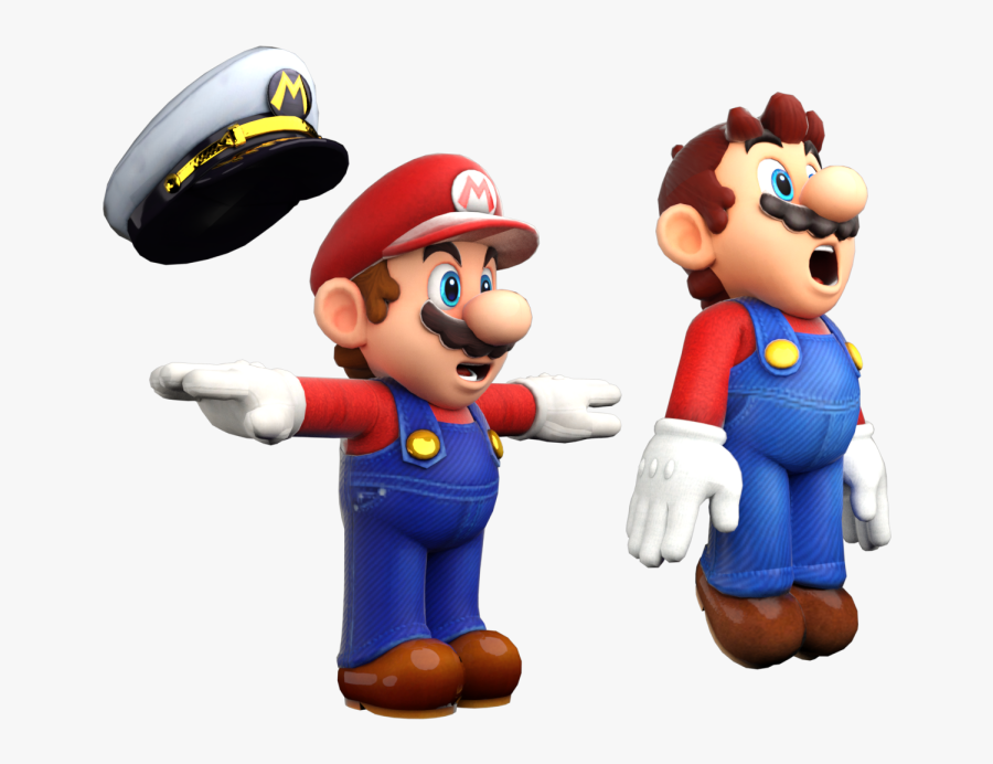 Super Mario Odyssey Png -download Zip Archive - Super Mario T Pose, Transparent Clipart