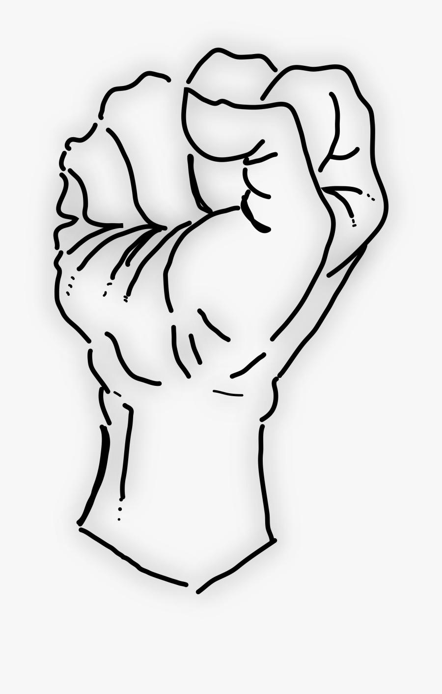 filefist vector image gambar kepalan tangan png free transparent clipart clipartkey gambar kepalan tangan png