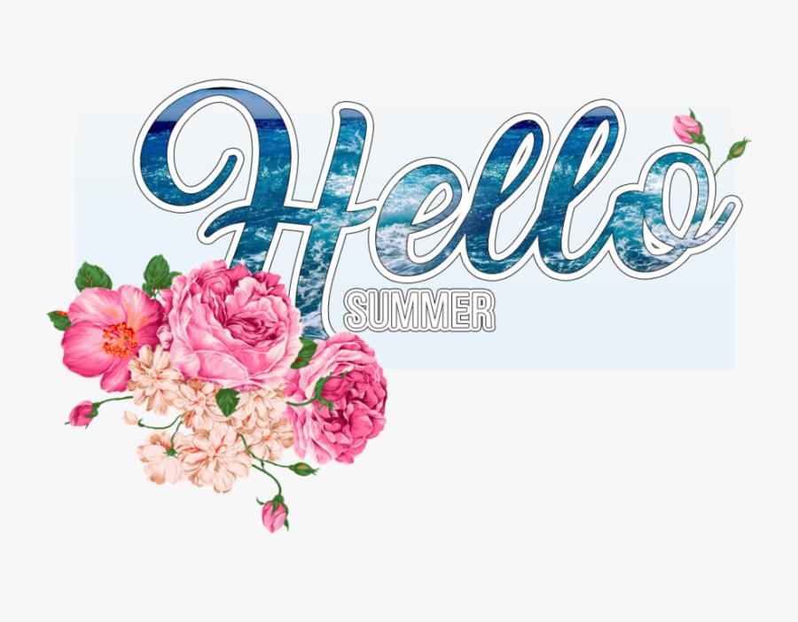 Hello Summer Png - Bouquet, Transparent Clipart