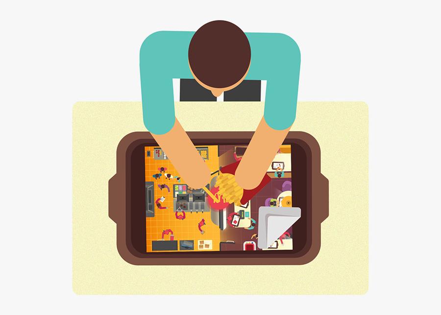 Clip Art Open Door Illustration - Illustration, Transparent Clipart