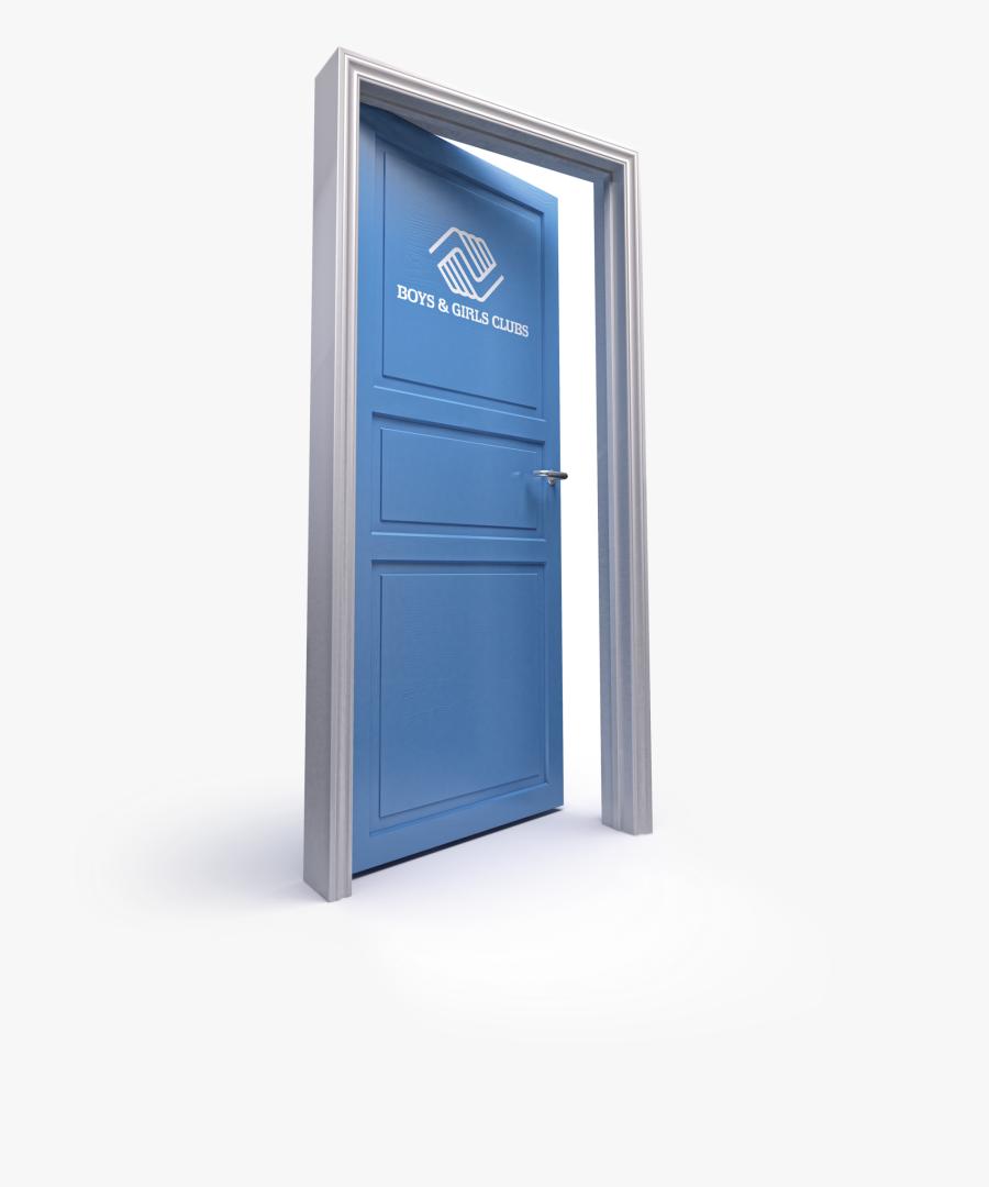 Girl Opening Door Png - Door, Transparent Clipart