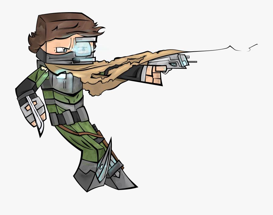 Jumping Monkey Avatar Smaller - Shoot Rifle, Transparent Clipart