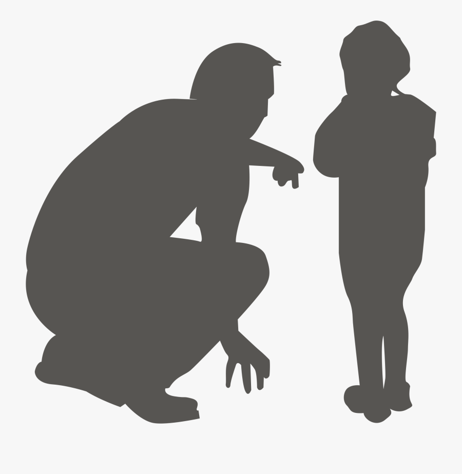 Man And Child Clip Arts - Man And A Child, Transparent Clipart