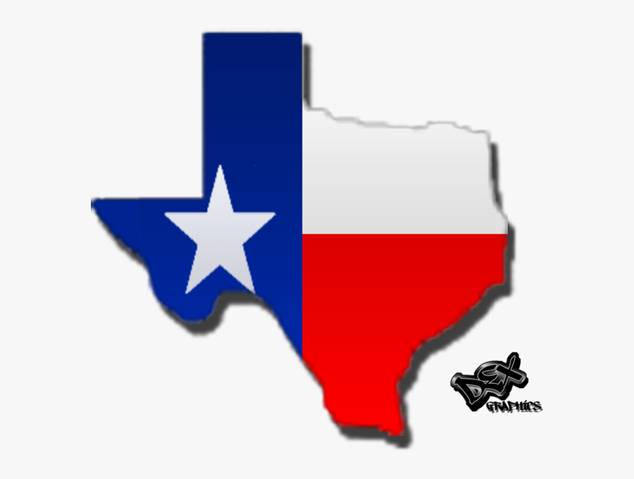 Texas State And Flag Clipart , Png Download - Texas State And Flag, Transparent Clipart