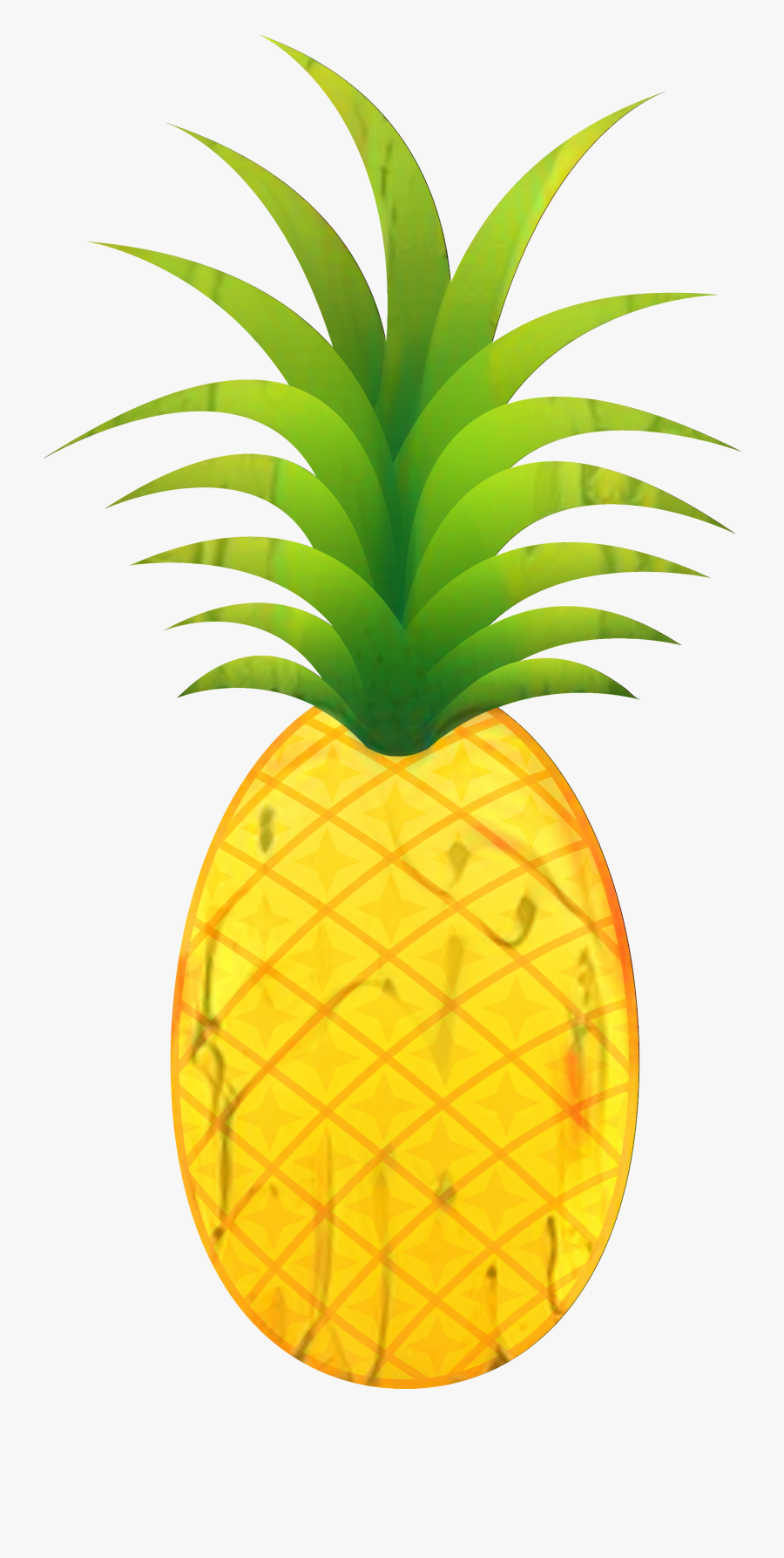 Pineapple Clip Art Portable Network Graphics Image - Transparent Pineapple Clipart, Transparent Clipart