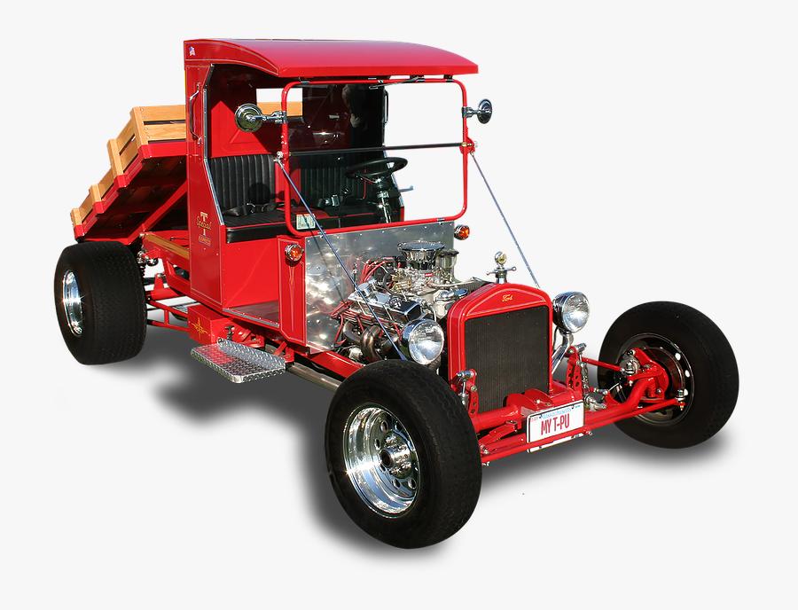 Transparent Hot Rod Flames Png - Model T Truck Hot Rod, Transparent Clipart