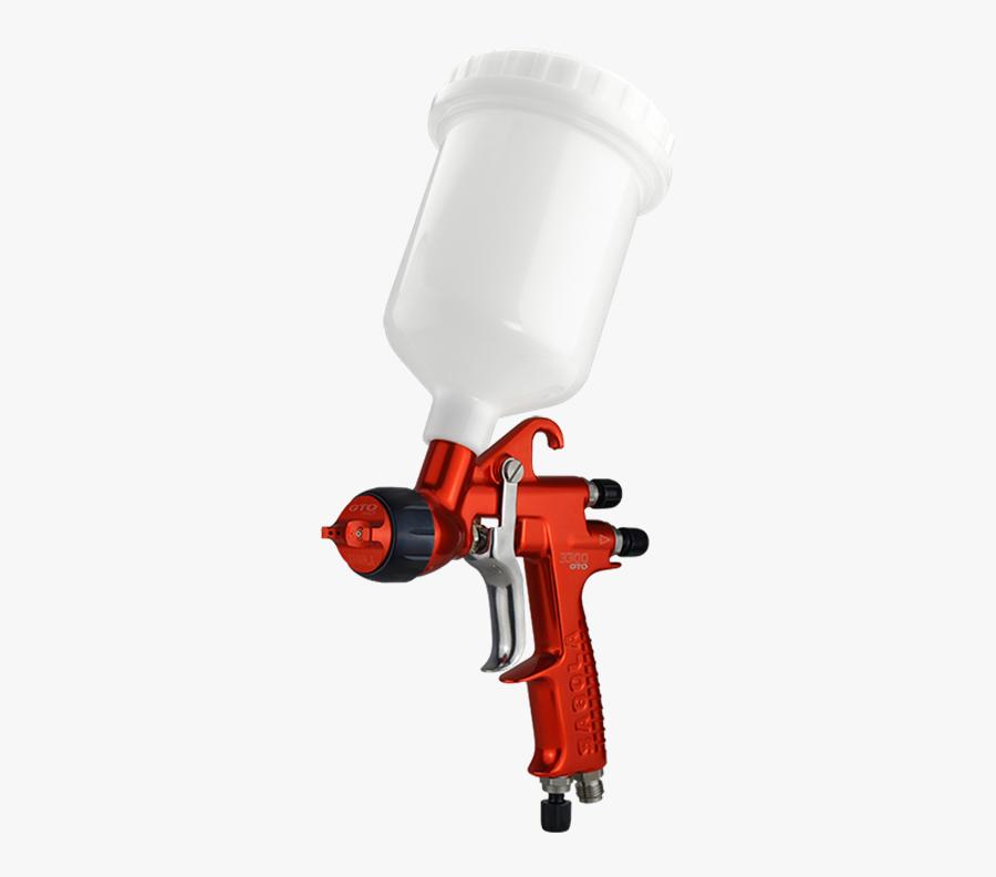 Sagola Spray Gun 3300 Gto Hvlp - Sagola 3300 Gto 1.3 Evo, Transparent Clipart