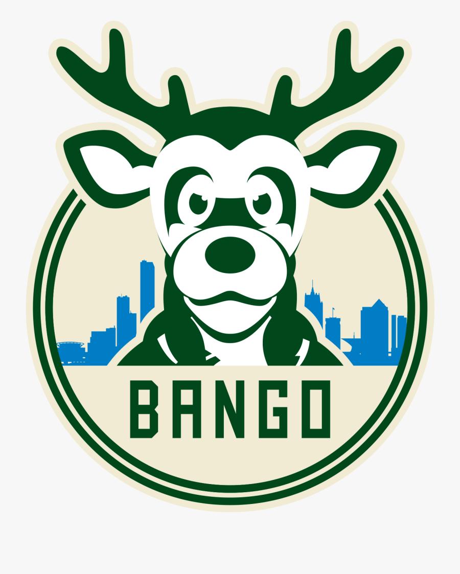 Milwaukee Bucks, Hoop, Nba, Basketball, Games, Sports, - Milwaukee Bucks Funny Logo, Transparent Clipart