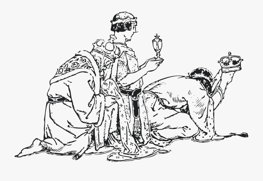 Biblical Magi Christmas We Three Kings Clip Art - Heilige Drei Könige, Transparent Clipart