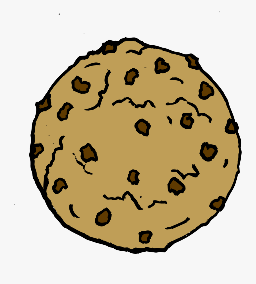 - Cookie Monster Clipart Transparent Png - Chocolate Chip Cookies