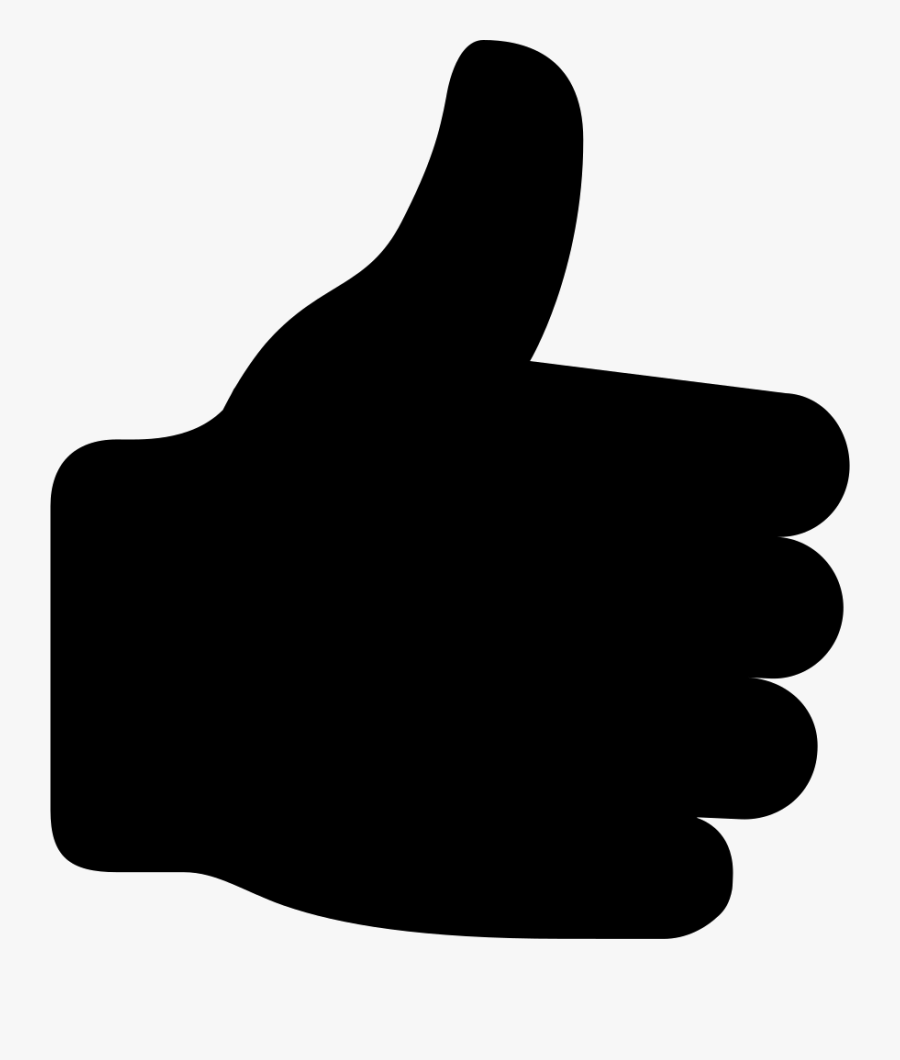 Thumb Signal Computer Icons Gesture - Transparent Background Thumbs Up Icon Png, Transparent Clipart