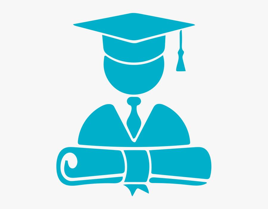 Transparent High School Graduate Clipart - Transparent Background Education Logo, Transparent Clipart