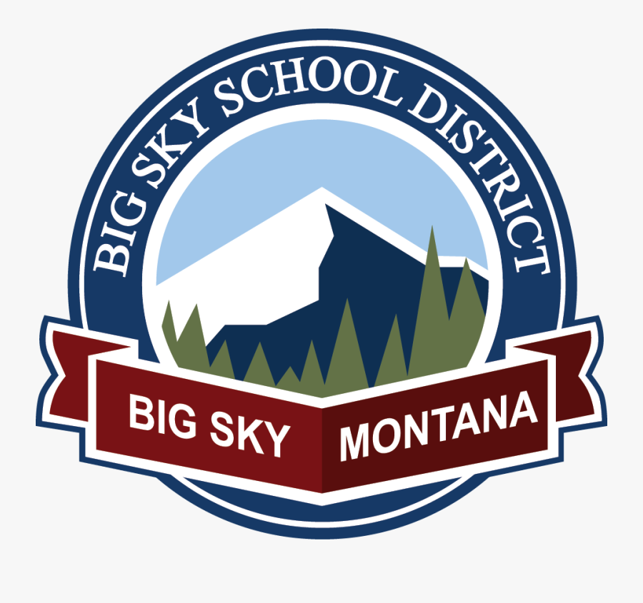 Big Sky School District - Lone Peak High School Big Sky, Transparent Clipart