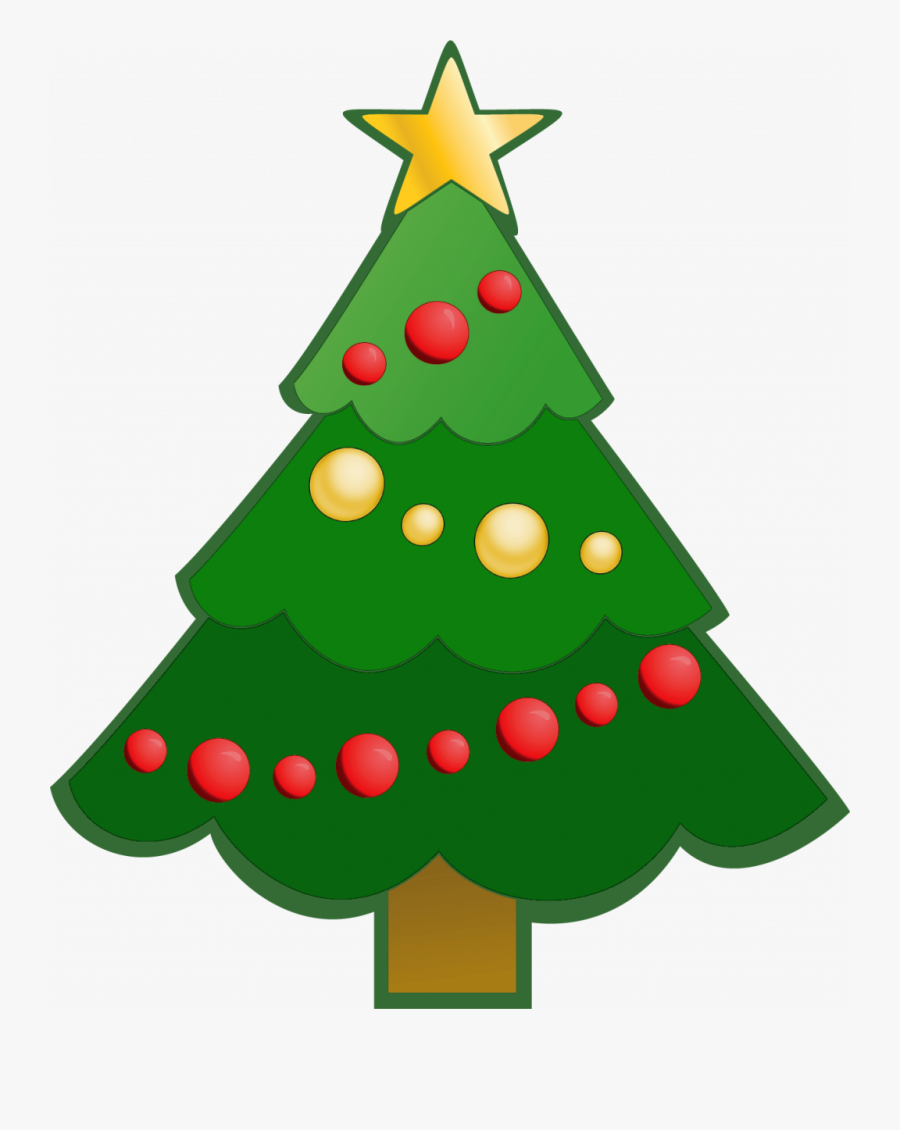 Clipart Simple Christmas Tree, Transparent Clipart