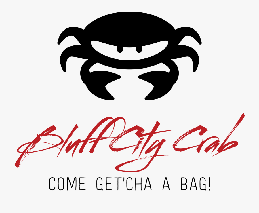 Bluff City Crab, Transparent Clipart