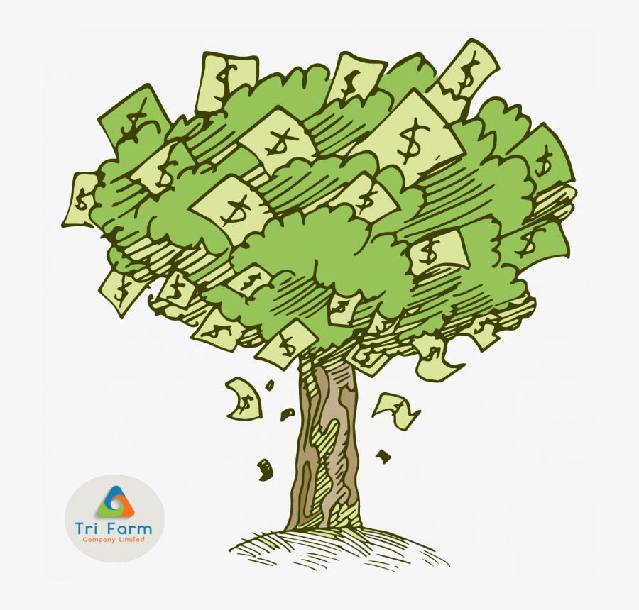 Money Tree Png - Transparent Money Tree Clipart, Transparent Clipart