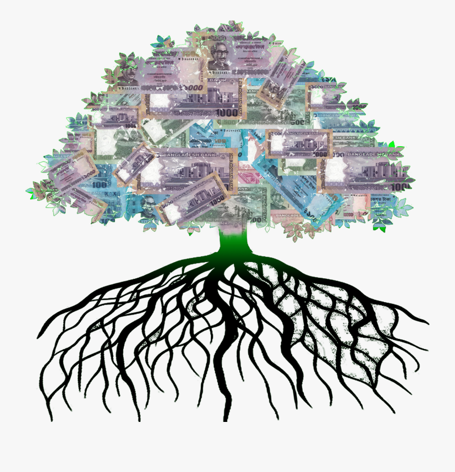 টাকার গাছ Money Tree - Taka Tree Images Png, Transparent Clipart