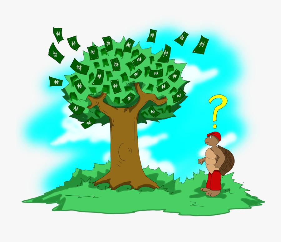 Ajapa Money Tree - Global Money Week Art, Transparent Clipart