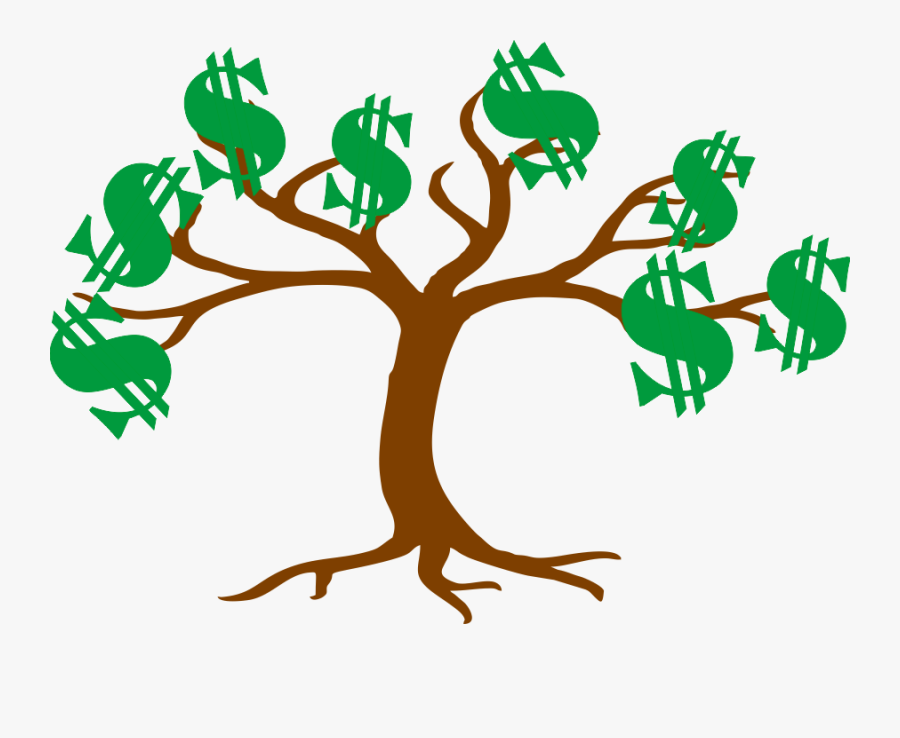 Tree With 12 Branches, Transparent Clipart