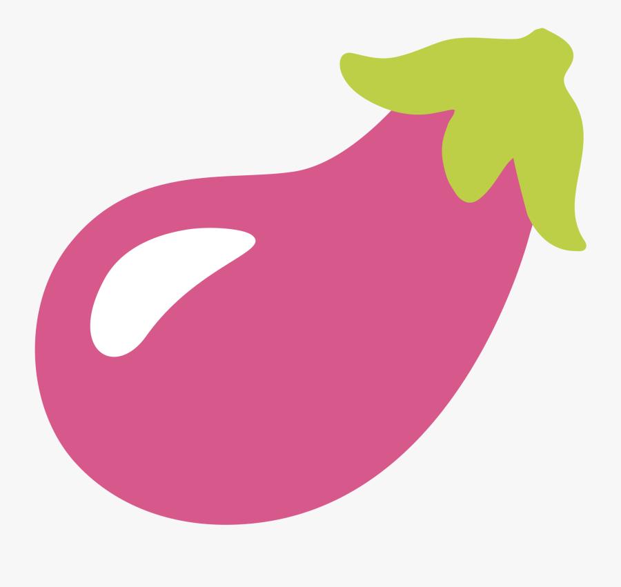 Transparent Eggplant Clipart - Samsung Eggplant Emoji, Transparent Clipart