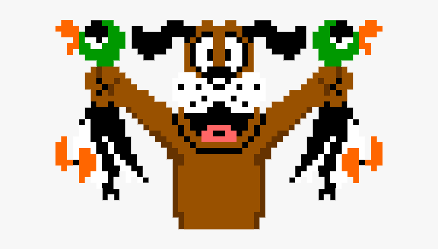Duck Hunt Hunting Dog Wii U - Duck Hunt 8 Bits, Transparent Clipart