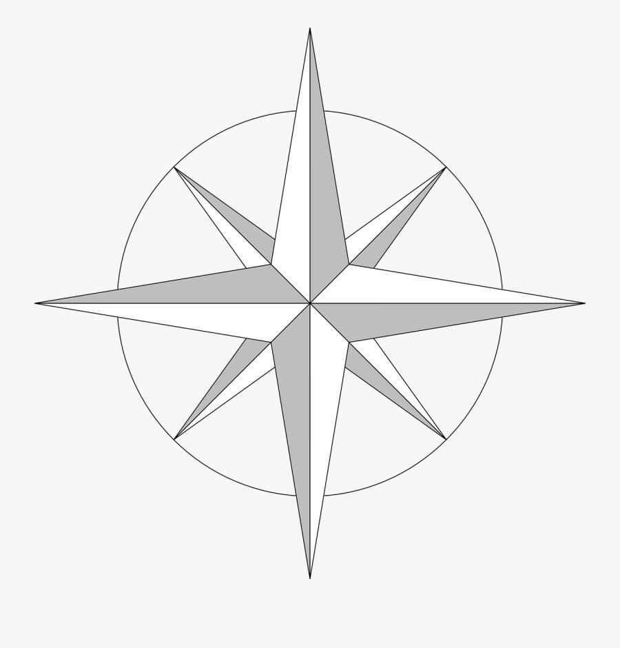 Free Download Rosa De Los Vientos Png Clipart Compass - Compass With North South East West, Transparent Clipart