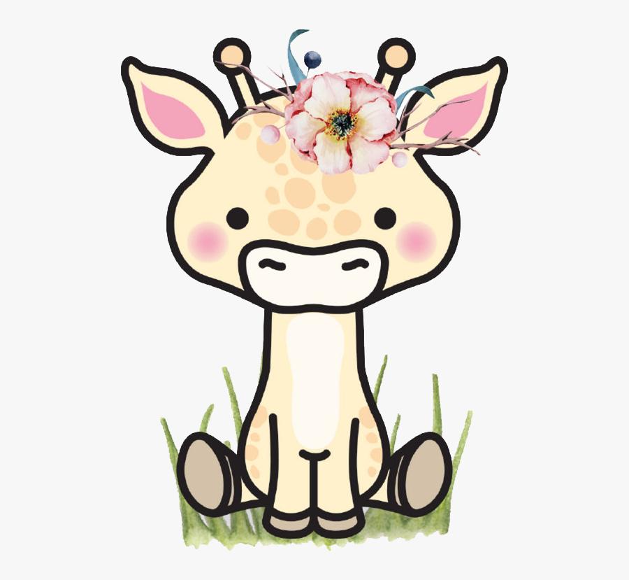 Giraffe Silhouette Projects, Giraffe, Die Cutting, - Kawaii Giraffe, Transparent Clipart
