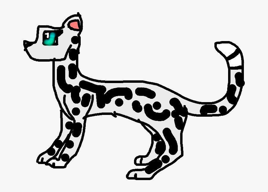 Make Your Own Snow Leopard, Transparent Clipart