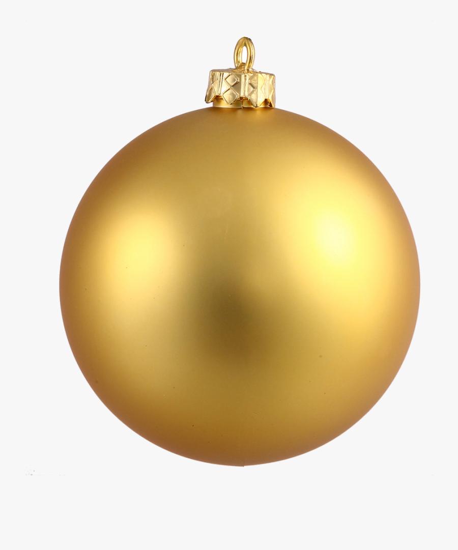 Christmas Ornament Ornaments Clipart Gold Pencil And - Gold Christmas Ornament Transparent, Transparent Clipart