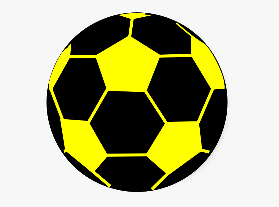 Black And Yellow Ball, Transparent Clipart