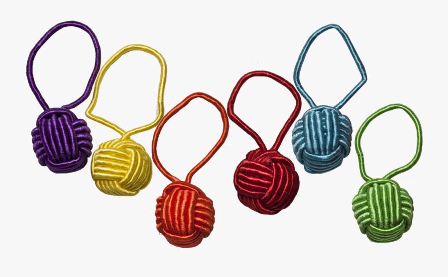 Hiyahiya Yarn Ball Stitch Markers - Yarn Ball Stitch Markers, Transparent Clipart