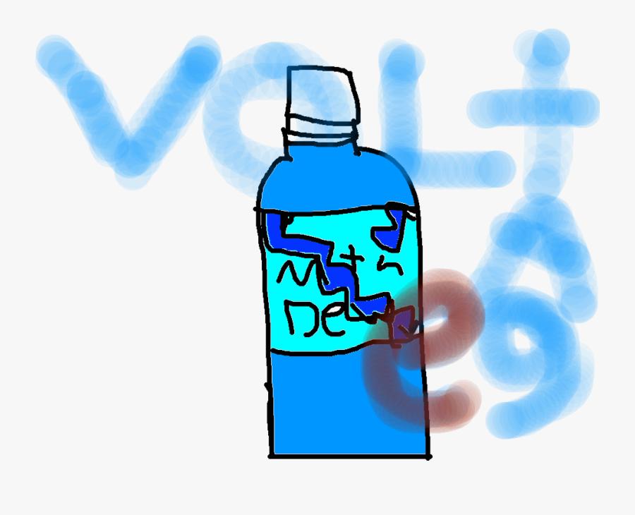 Plastic Bottle, Transparent Clipart