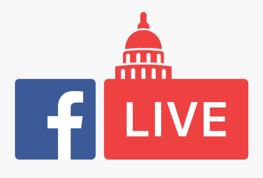 Courthouse Clipart Government Policy - Facebook Live Logo Vector, Transparent Clipart