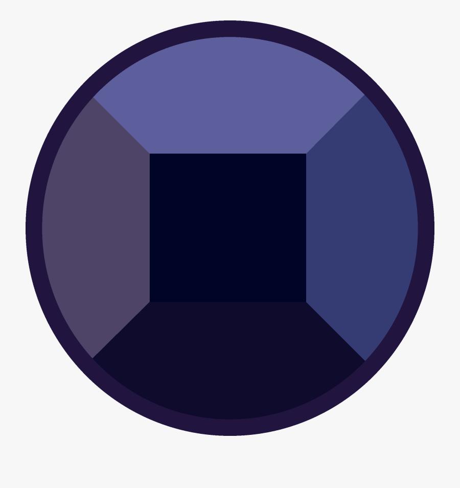 Gemstone Clipart Purple Gem - Circle, Transparent Clipart