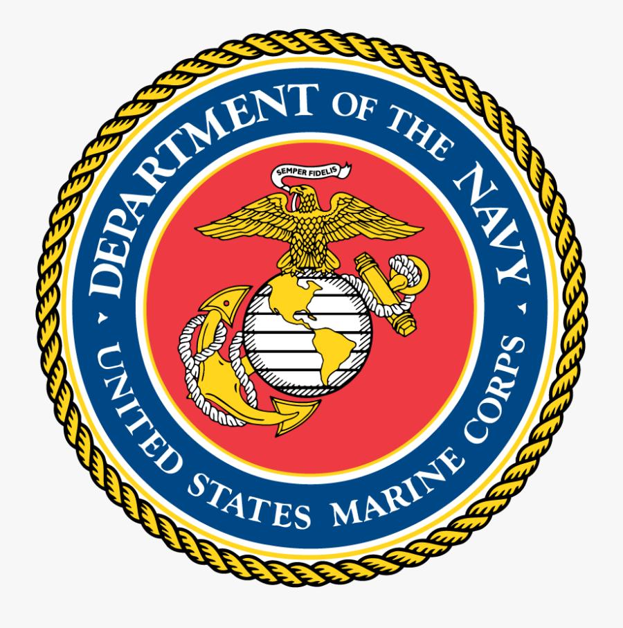 Marines Seal - Marine Corps Logo Small, Transparent Clipart