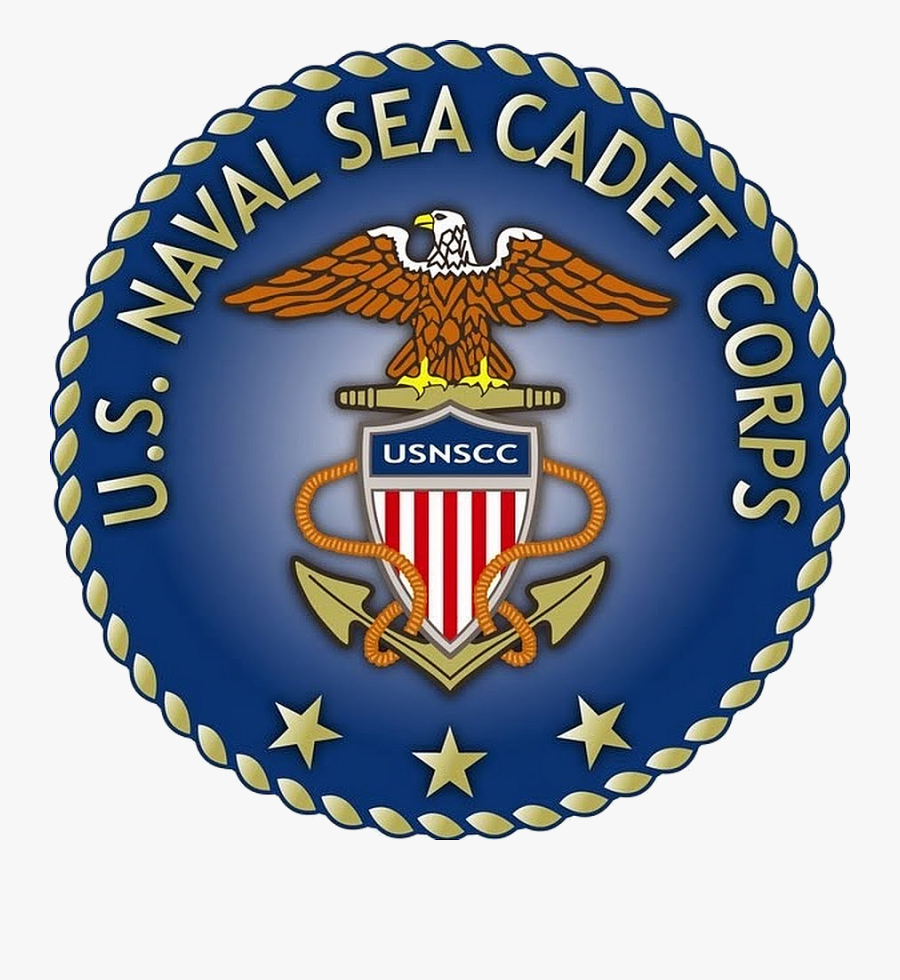 Seal Of The United States Naval Sea Cadet Corps - Us Naval Sea Cadets Logo, Transparent Clipart