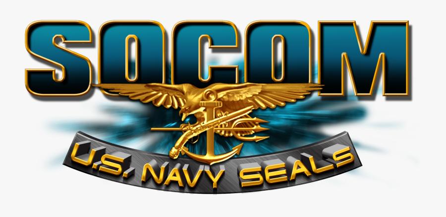 Transparent Us Navy Logo Png - Socom Us Navy Seals, Transparent Clipart