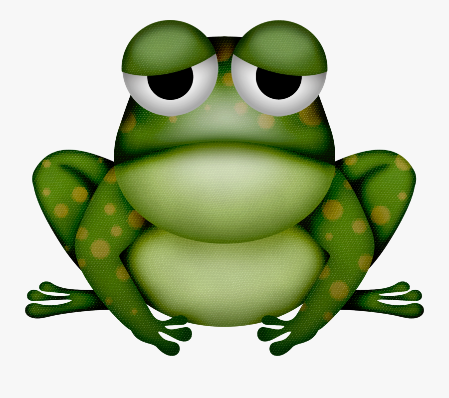 Frogs Clipart Woodland - Bufo, Transparent Clipart