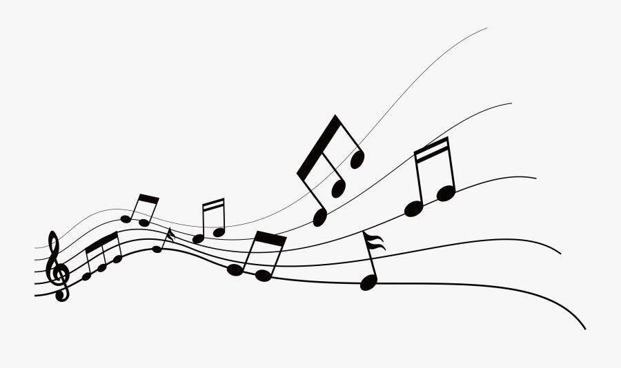 Musical Note Graphic Design - Music Notes Graphic Design, Transparent Clipart
