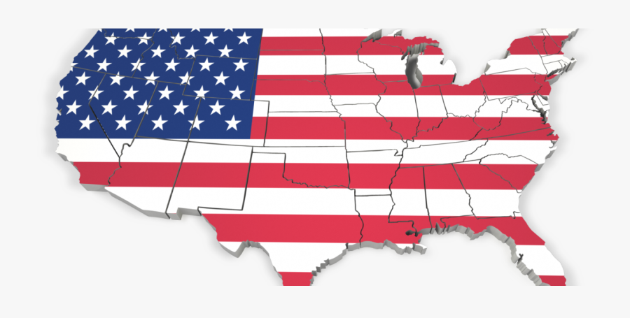 The Top 10 Reasons Usa Is Becoming A Big Brother Society - Usa Map Outline Png, Transparent Clipart