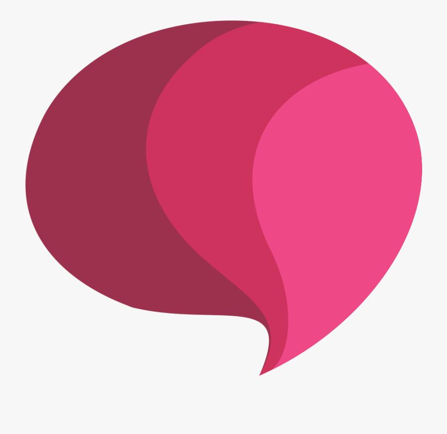 Speech Bubble - Circle, Transparent Clipart