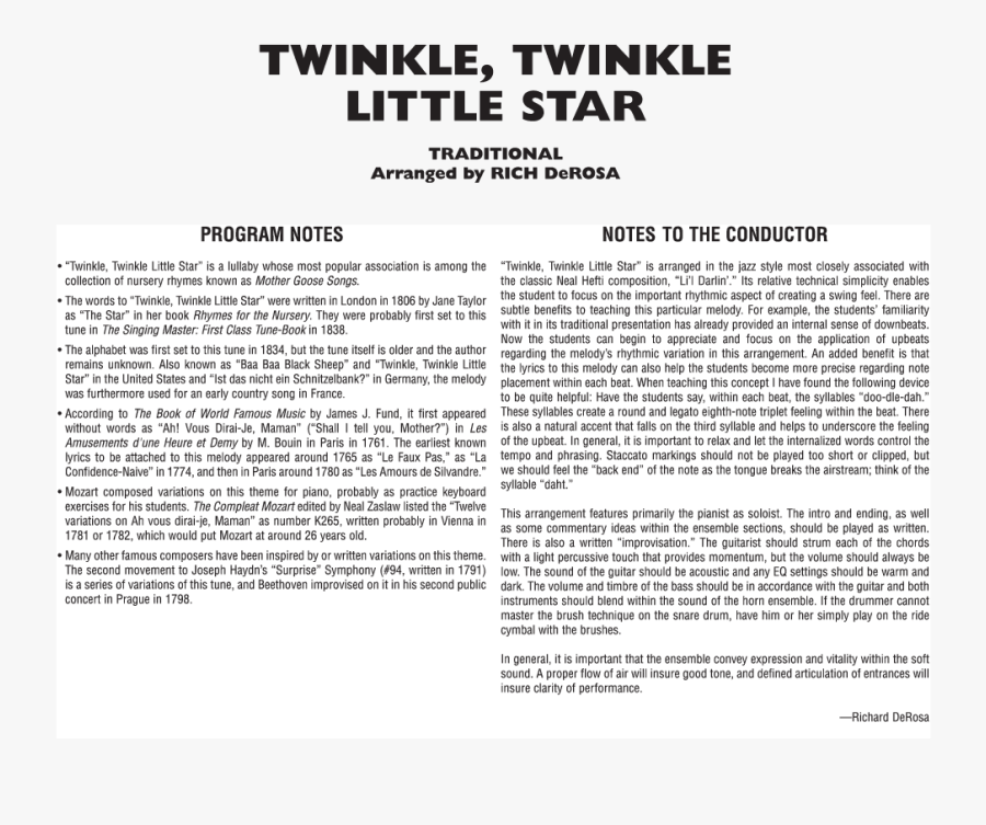 Transparent Twinkle Twinkle Little Star Png - Historiated Initial 'h' At The Beginning, Transparent Clipart
