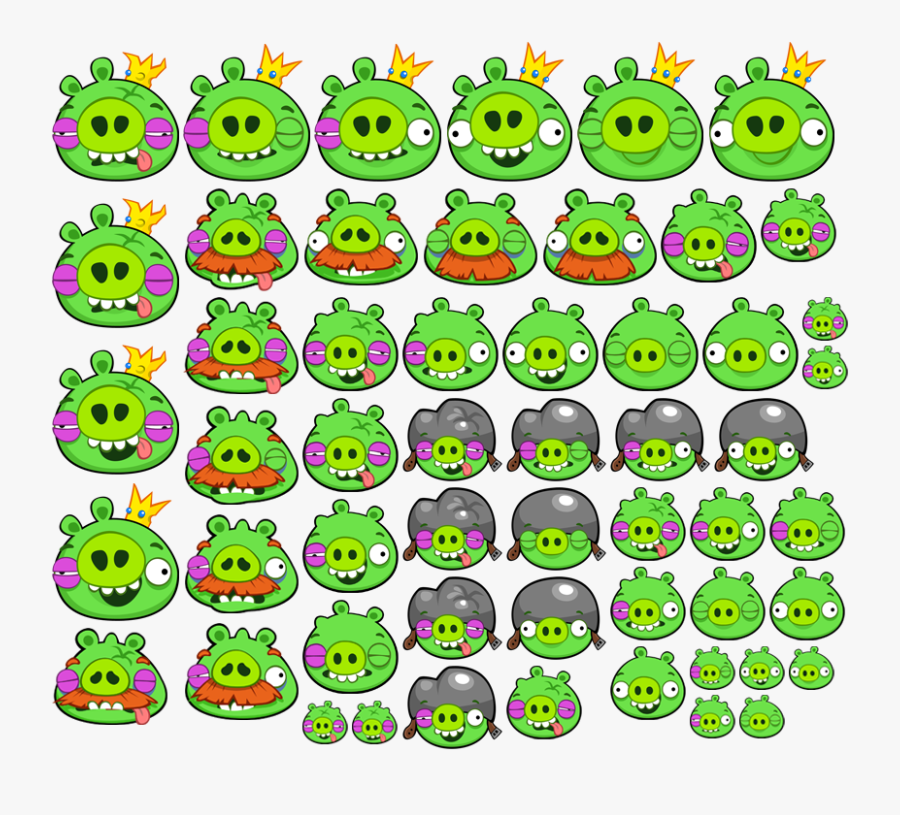 Startup Time - Angry Birds Chrome Pigs, Transparent Clipart