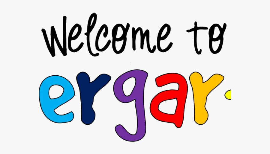 Welcome School Clipart - Welcome To Kindergarten Clipart, Transparent Clipart