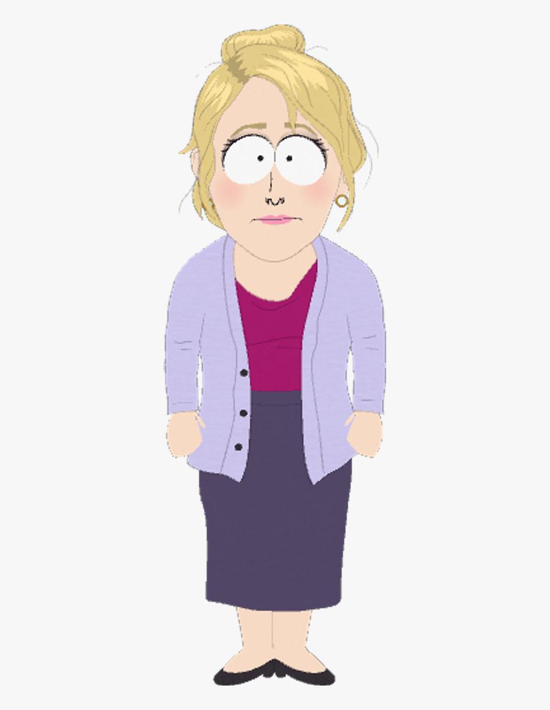 Transparent Stick Woman Png - Strong Woman South Park, Transparent Clipart