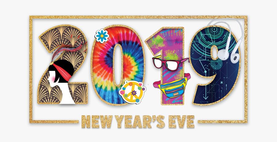 """New Year""""s Eve Party - New Years Eve Decade, Transparent Clipart"""